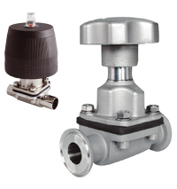 Unique Diaphragm Valve UltraPure